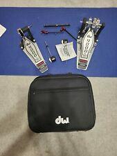 DW 9002 DOUBLE BASS DRUM PEDAL W/CASE