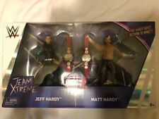 WWE Mattel HARDY BOYZ Epic Elite moments Wrestling Figure Jeff Matt combat