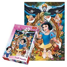 Trefl 160 Piece Kids Girls Disney Princess Snow White & Dwarfs Jigsaw Puzzle NEW