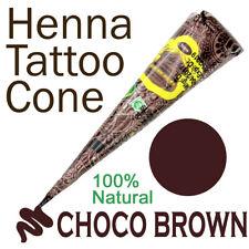 Golecha Henna Tattoo Paste Kegel - Schokobraun, No PPD, klinisch getestet - 25g