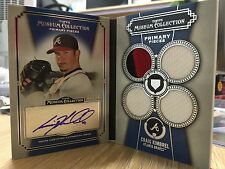 2013 TOPPS MUSEUM COLLECTION CRAIG KIMBREL QUAD PATCH AUTO BOOKLET 07/10 BRAVES