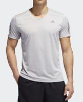 Adidas Own The Run Tee Shirt Men's Gray Size Medium