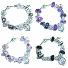 Silver Plated Family Fashion Charms & Charm Bracelets