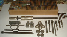 SNAP ON PULLER SET INCLUDING SLIDE HAMMER YOKES AND PARTS LARGE LOT CJ SERIES