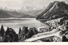 16471 Ak Hotel Post E Kurhotel Hunter Lago di Montagna Walchensee Alberi Um 1930