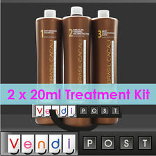 Brasil Cacau Professional Brazilian Keratin Treatment - Brazil DIY 20ml Kit x 2