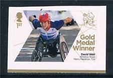 GB 2012 Paralympics Gold Medal David Weir Medal 4 1v  MNH