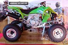 KAWASAKI  KFX450R  2009 1/12th  MODEL ATV GREEN