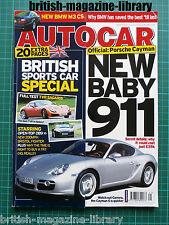 Autocar 24/5/2005 Road Test: TVR Sagaris DB9 Volante Ferrari Superamerica M3 CS
