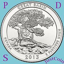 2013 PDS SET GREAT BASIN (NV) NATIONAL PARK QUARTERS UNCIRCULATED U.S.MINT