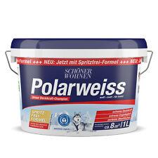 Schöner Wohnen Polarweiss matt Innenfarbe Wandfarbe Deckenfarbe 1 L