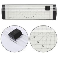 A4 Precision Photo Rotary Paper Cutter Guillotine Trimmer Arts Crafts Home Card