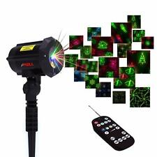 LEDMALL Firefly 3 models in 1 Motion 18 Patterns RGB Laser Christmas Lights