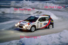 Colin McRae Ford Focus RS WRC 00 Swedish Rally 2000 Photograph 2