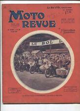 Moto Revue N°380  ;  21  juin 1930  : Le bol d'Or 1930 , le Tricyclecar B.S.A