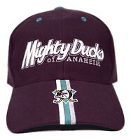 Anaheim Mighty Ducks Twins Enterprise NHL Team Coordinator Hockey Logo Cap Hat