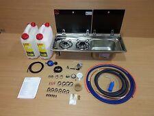 Smev Dometic 9722 Campervan Sink&Cooker  Combination Unit KIT RH 10L & Template