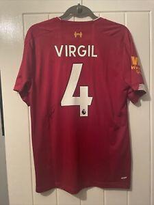 VIRGIL VAN DIJK - SIGNED LIVERPOOL SHIRT 19/20  SHIRT,  HOLLAND LEGEND - LFC 4