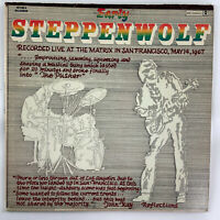 Early Steppenwolf Live in San Francisco 1967 Vintage Vinyl LP Record Album