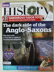 """BBC History Magazine Volume 13 Issue 13 """"One Owner From New"""" - 2012 Anglo Saxons"""