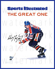 Wayne Gretzky-Walter Gretzky giclee print on canvas poster painting B-4168