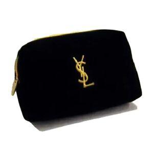 Yves Saint Laurent YSL Beauty Makeup Trousse Bag Small  USA Seller