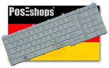 Orig. QWERTZ Tastatur Toshiba Satellite L650 L650D L655 L675 Series DE Neu Weiss
