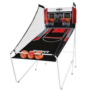 ESPN Indoor 2 Player Hoop Shooting Basketball Arcade Game w/ Scoreboard & Balls