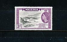 NIGERIA 1958 VICTORIA HARBOUR IMPRINT BLOCK OF 4 MNH