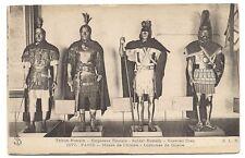 paris musée de l'armée  costumes de guerre , tribun romain  empereur romain