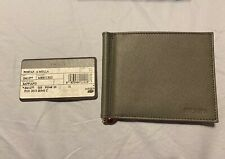 SALE NWT PRADA Men's Classic Saffiano Leather Money Clip Wallet ITALY