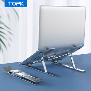 TOPK Support pour Ordinateur Portable Réglable Pliant Laptop Table Stand