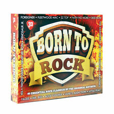 BORN TO ROCK NEW 3 CDSET 60 ROCK CLASSICS, GREATEST HITS OF ROCK, BEST OF ROCK