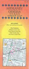 1997 Farm to Market Roads Map MIDLAND ODESSA Texas Ector County Street Index