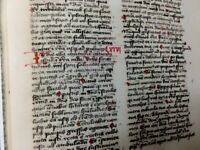 Bible Of The Ratisbon Dominican Order, Facsimile, 1450 AD