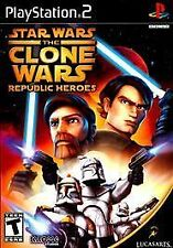 PlayStation2 : Star Wars the Clone Wars: Republic Heroes VideoGames