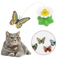 Flying Butterfly Play Toy For Cat Pet Hot T8N3