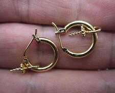14K Gold Filled Hook Earring Setting & Pin Finding DIY Dangle Earring