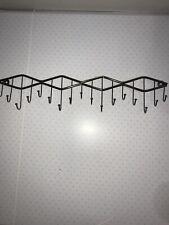 Tie Belt Hanger Rack Necktie Holder Closet Organizer Door Wall Mount