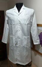 White Lab Coat Size L Vicabo Cotton Blend Lightweight New BNWOT
