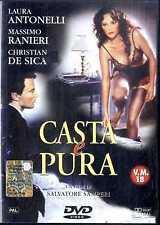 CASTA E PURA Laura Antonelli Massimo Ranieri Christian De Sica DVD FILM SEALED