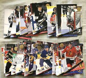 1993-94 Leaf NHL Hockey Series 2 50 card starter set Brett Hull Chris Pronger