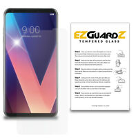 EZguardz Premium Tempered Glass Screen Protector For LG V30