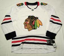 CHICAGO BLACKHAWKS sz 56 XXL 2020 away ADIDAS NHL Hockey Jersey Authentic White