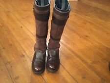 Ladies Dubarry Longford Boots Size 5