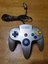 (1) Gold Nintendo 64 Controller Original OEM N64