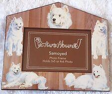 New Samoyed Picture Hound 3x5 4x6 Dog Pet Photo Frame