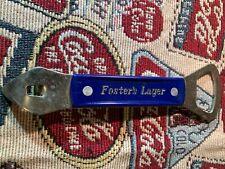 FOSTER'S LAGER 1970-80'S METAL BOTTLE OPENER BEER