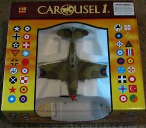 Carousel 1 RAF Tomahawk IIB 1:48 Scale with Base Limited Edition 6103