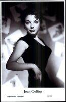 Beautiful Actress Joan Collins 15/98 Swiftsure 2000 Postcard GREAT QUALITY